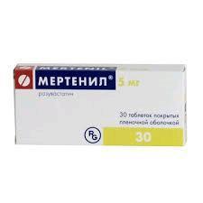 Мертенил по цене от 511,00 рублей, купить в аптеках Смоленска, табл. п/о 5 мг №30 Розувастатин